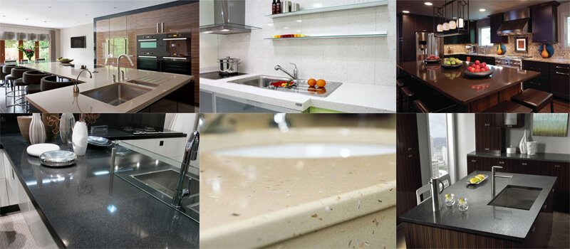 quartz slab applications